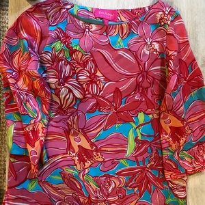 Women's Lily Pulitzer Silky Blouse